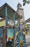 Traditional horse and cart, Manila Royalty Free Stock Photo