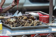 Traditional hot pot Myanmar Food royalty free stock photography