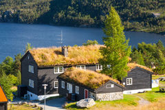 Traditional hotel in Norway Royalty Free Stock Photography