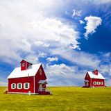 Traditional House Royalty Free Stock Photos