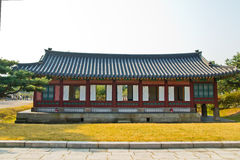 Traditional House. Traditional House ,in South Korea Stock Photo