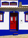 Traditional house of Algarve Royalty Free Stock Image