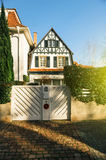 Traditional house in Alsace France Royalty Free Stock Photos