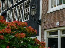 Traditional house in Amsterdam royalty free stock image