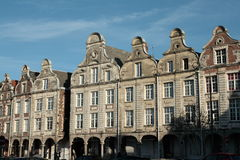 Traditional house in Arras, France Stock Image