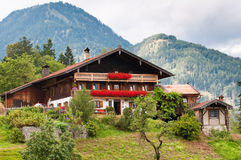 Traditional house in Austria Royalty Free Stock Photography