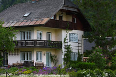 Traditional house, bavaria Royalty Free Stock Images