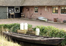 Traditional house. Giethoorn Stock Photos