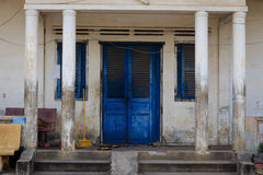 Traditional House in Cambodia Stock Photo