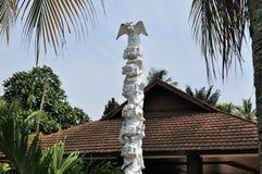 Traditional house of Celebes, Sulawesi, Indonesia Royalty Free Stock Image