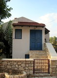 Traditional Greek house Stock Photos