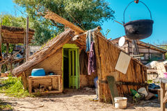 Traditional house in Danube Delta. Stock Photography