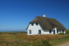 Traditional House in Denmark Royalty Free Stock Photography