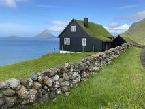 Traditional house in Faroe.