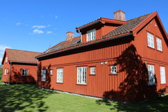Traditional house in Fredrikstad Stock Photo