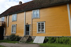 Traditional house in Fredrikstad Stock Image