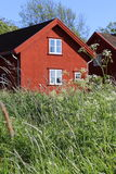 Traditional house in Fredrikstad Royalty Free Stock Photo