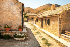 Traditional House From Perithia Old Village, Corfu Royalty Free Stock Image