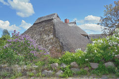 Traditional House,Goehren,Ruegen Island,Germany Stock Image
