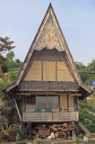 Traditional house with grabled roof Royalty Free Stock Image