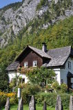 Traditional house in Hallstatt Stock Images