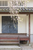 Traditional house in Japan royalty free stock image
