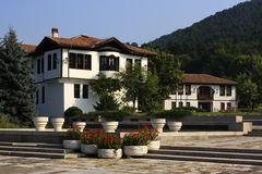 Traditional house in Kalofer, Bulgaria Stock Photos