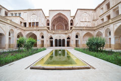 Traditional house Khan-e Abbasian in Kashan, Iran Royalty Free Stock Image