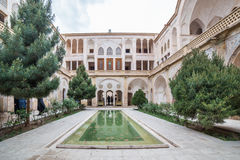 Traditional house Khan-e Abbasian in Kashan, Iran Royalty Free Stock Photo