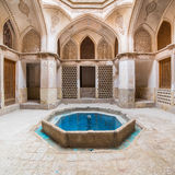 Traditional house Khan-e Abbasian in Kashan, Iran Stock Photo