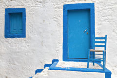 Traditional house at Kos island in Greece Stock Photos