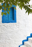 Traditional house at Kos island in Greece Stock Image