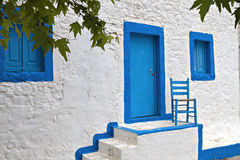 Traditional house at Kos island in Greece Royalty Free Stock Photo