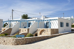 Traditional house in Koufonissi island Stock Images
