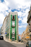 Traditional house in Lisboa Stock Photography