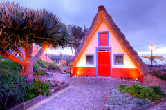 Traditional house on madeira Stock Images