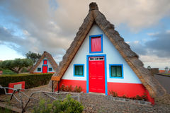 Traditional house on madeira Stock Photo