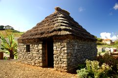 Traditional house in Madeira Stock Photo