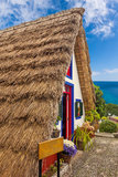 Traditional house, Madeira Royalty Free Stock Images