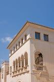Traditional house in Majorca. Exterior facade of traditional house in town of Santanyi, Majorca, Spain Royalty Free Stock Photos