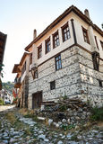 Traditional house from Melnik, Bulgaria Stock Image