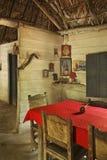 Traditional house in Natural Park El Cubano. Cuba Royalty Free Stock Photos