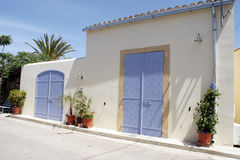 Traditional house in Nicosia Stock Photo