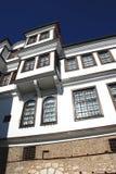 Traditional house, Ohrid, Macedonia Stock Photo