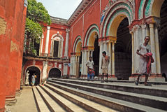 Traditional house of Old Kolkata. Royalty Free Stock Images