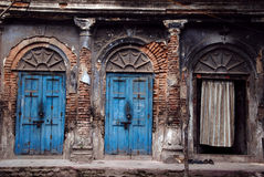 Traditional house of old Kolkata Stock Photography