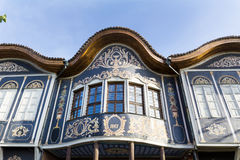 Traditional house in the old town of Plovdiv, Bulgaria Royalty Free Stock Images