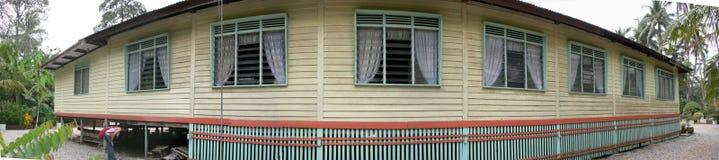 Traditional House Pano Stock Photo