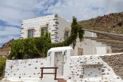 Traditional house at Patmos island, Greece Royalty Free Stock Photography
