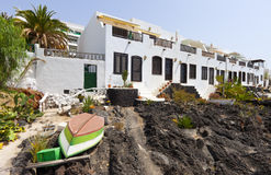Traditional house in Puerto Del Carmen, Lanzarote Royalty Free Stock Photo